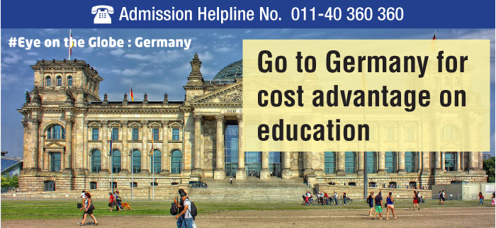 Go to Germany for cost advantage on education