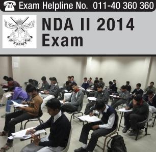 NDA II 2014 exam held on September 28