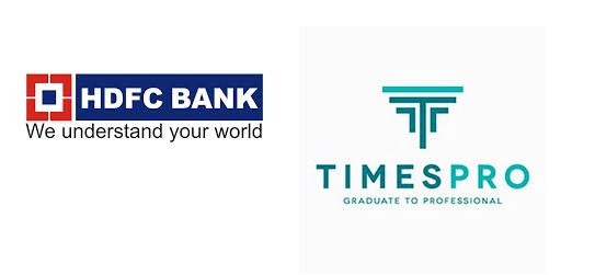 Become a modern banker through TimesPro and HDFC
