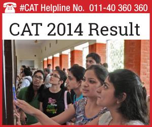 CAT 2014 Result