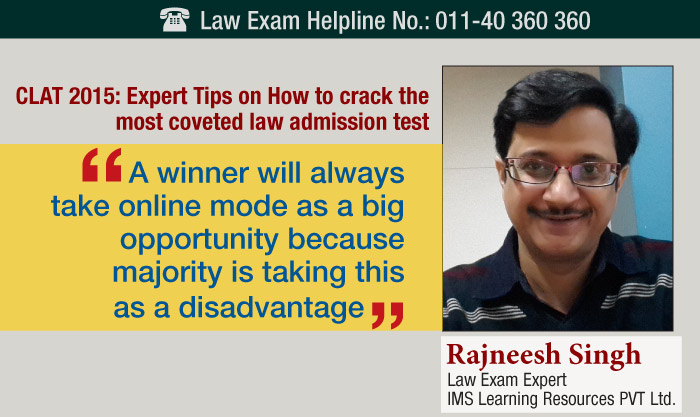 CLAT 2015: IMS Expert on cracking the law admission test