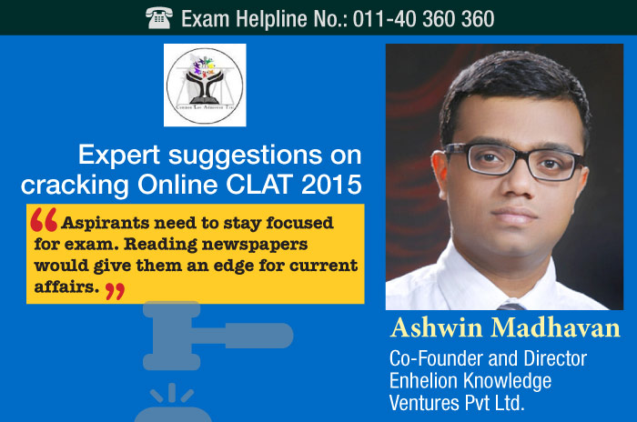 Expert suggestions on cracking Online CLAT 2015