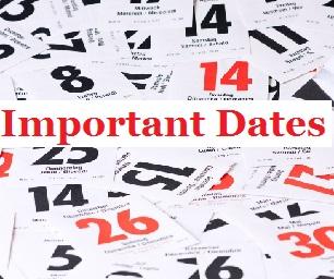 AMU LLM 2015 Important Dates