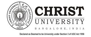 Christ University Law 2015 Application Form