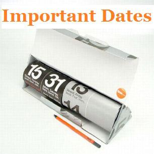 LFAT 2015 Important Dates