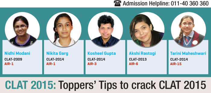 CLAT 2015: Toppers' tips to crack CLAT