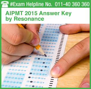 AIPMT 2015 Retest Answer Key by Resonance