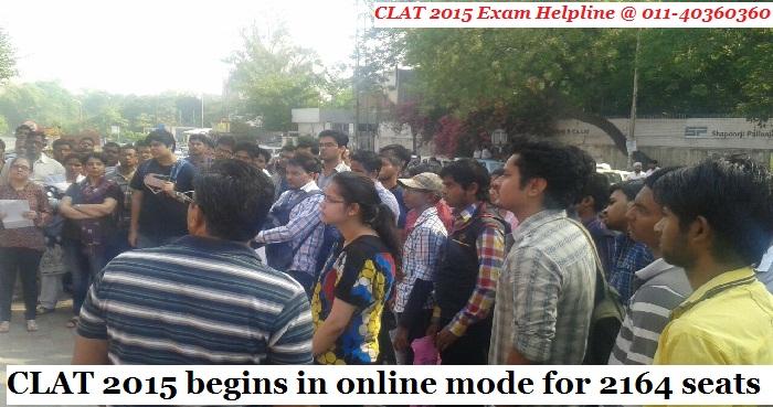 CLAT 2015 being held in 42 cities across India