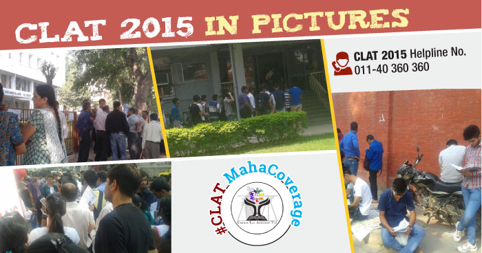 CLAT 2015 in Pictures