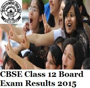 CBSE Class 12th Result 2015