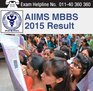 AIIMS MBBS 2015 Result