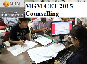 MGM CET 2015 Counselling