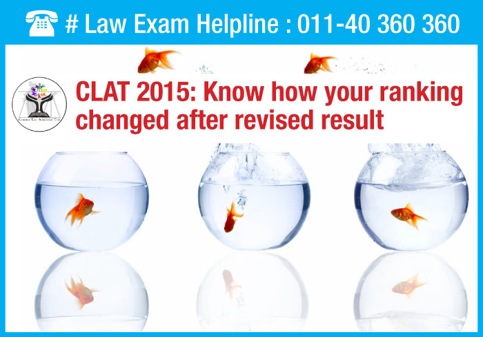 CLAT 2015: Know how your ranking changed after revised results