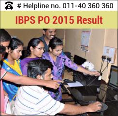 IBPS PO 2015 Result