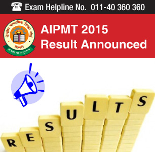 AIPMT 2015 results announced on August 17