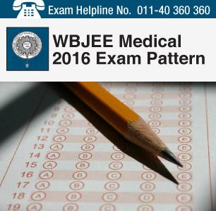 WBJEE Medical 2016 Exam Pattern