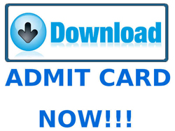 NDA II 2015 Admit Card