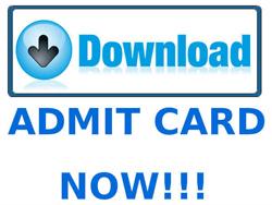 CDS II 2015 Admit Card