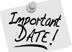 CDS II 2015 Important Dates