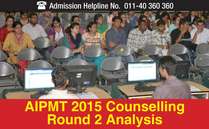AIPMT 2015 Counselling Round 2 Analysis - closing ranks fall by 800