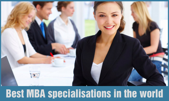 Best MBA specialisations in the world