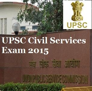 UPSC Civil Services Mains Exam 2015