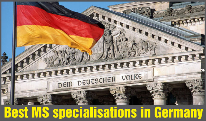 Best MS Specialisations in Germany