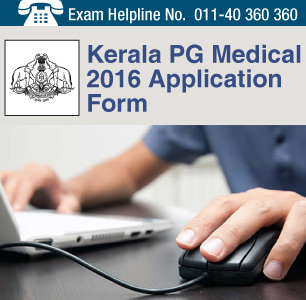 Kerala PG Medical 2016 Application Form