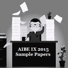 AIBE IX 2015 Sample Paper