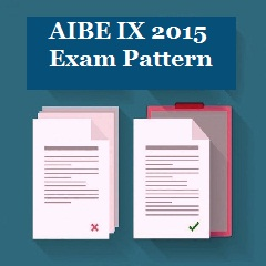 AIBE IX 2015 Exam Pattern