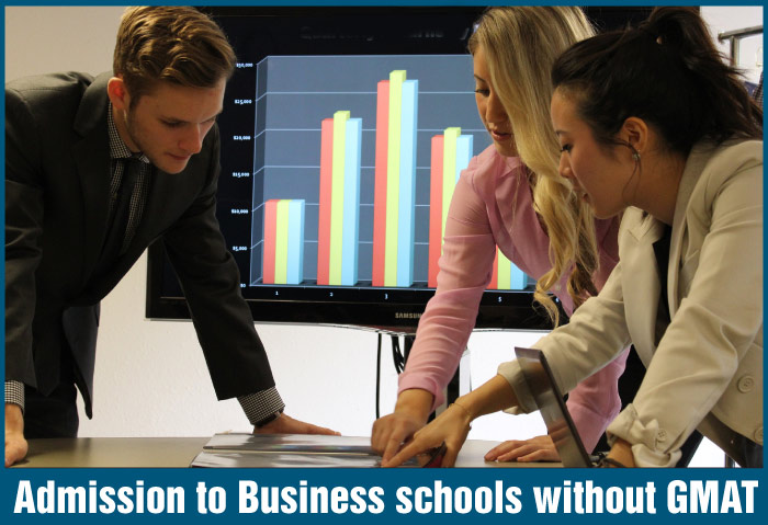 MBA without GMAT in top Business Schools
