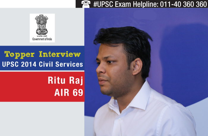 UPSC 2014 Civil Services Topper Interview - Ritu Raj - All India Rank 69