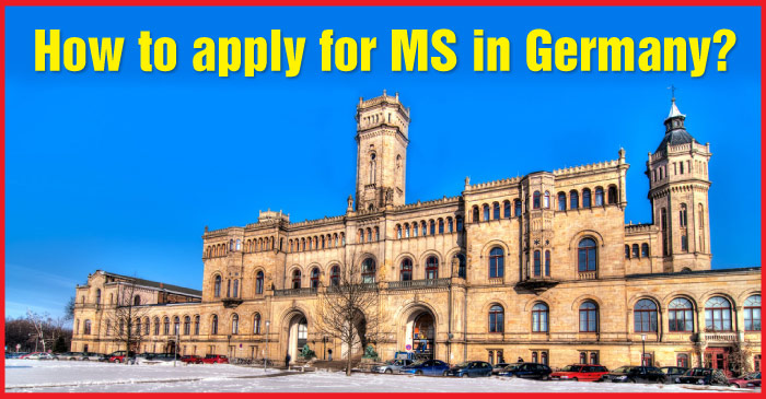 How to apply for MS in Germany?
