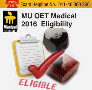 MU OET Medical 2016 Eligibility