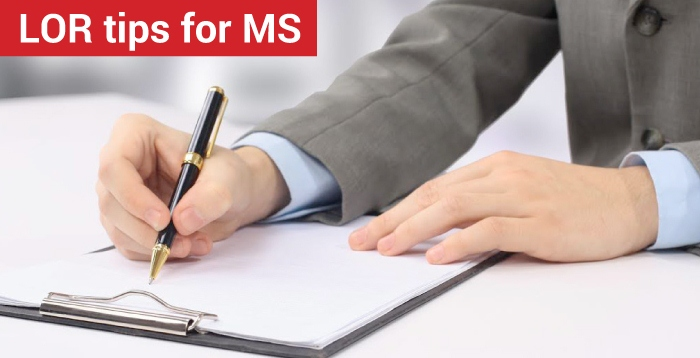 LOR tips for MS studies