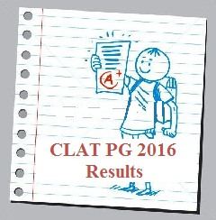 CLAT PG 2016 Result