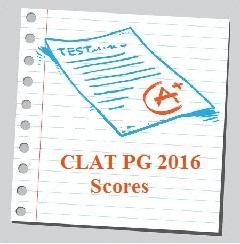 CLAT PG 2016 Score