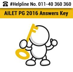 AILET PG 2016 Answer Key