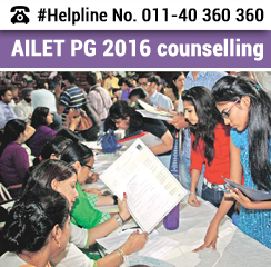 AILET PG 2016 Counselling