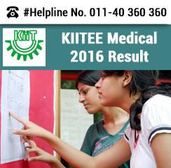 KIITEE Medical 2016 Result