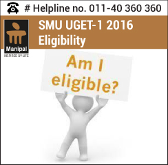 SMU UGET 1 2016 Eligibility