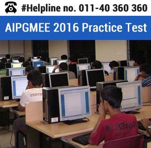 AIPGMEE 2016 Practice Test