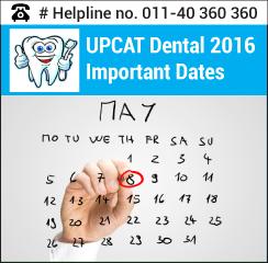 UPCAT Dental 2016 Important Dates