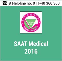SAAT Medical 2016