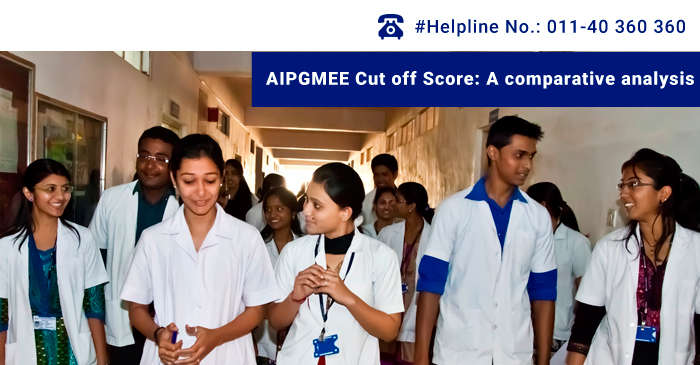 AIPGMEE Cut off Score: A comparative analysis
