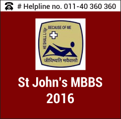 St. John's MBBS 2016
