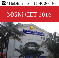MGM CET 2016