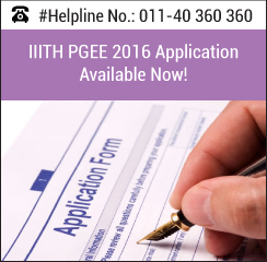 IIITH PGEE 2016 Application Form Available Now!