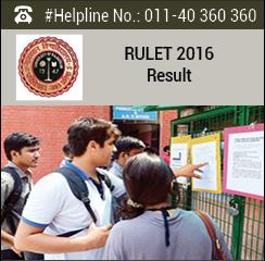 RULET 2016 Result