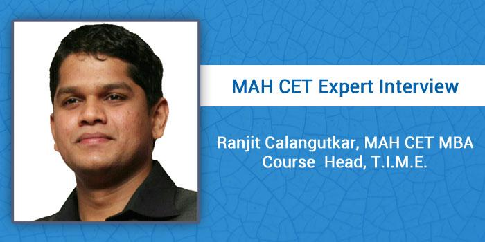 Learn speed enhancement techniques to crack MAH CET, says Ranjit Calangutkar, T.I.M.E.